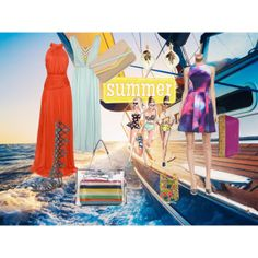 """Summer on a Yacht"" by duvessa87 on Polyvore"