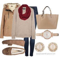 """Lazy Sunday Outfit"" by alyssanicolesmith on Polyvore"