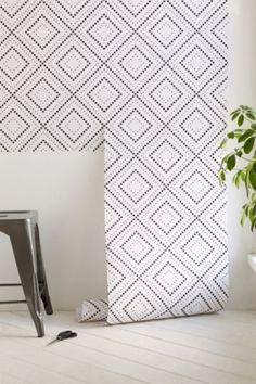 Walls Need Love Diamond Pixels Removable Wallpaper