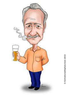 Caricatura de Cheversson Chagas 13