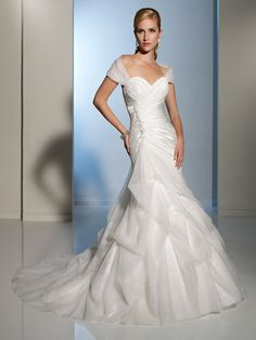 AA060 Sweetheart off the shoulder wedding dress