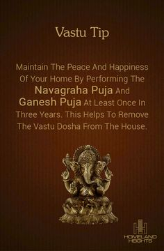 Dont Tell Your Ganesha How Big your Problems are, Just Tell your Problems How Big your Ganesha is! Feng Shui House, Pooja Room Door Design, Vedic Mantras, Devotional Quotes, Puja Room, Vastu Shastra, Feng Shui Tips, Indian Homes, Prayer Room