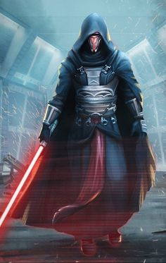 "Darth Revan ""I will show you the power of the force in balance"" Star Wars Darth Revan, Star Wars Sith, Clone Wars, Darth Vader, Star Trek, Images Star Wars, Star Wars Pictures, Star Citizen, Star Wars Kotor"