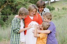 Family maternity older kids boys session