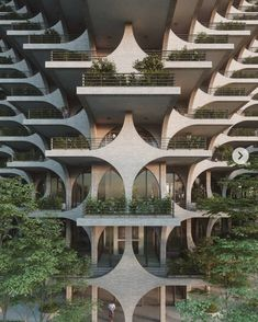 Vertical Landscape 🏙🌳What are your thoughts of this place?Tag your friends and let us know ‼️‼️ _________ Design by You can… Architecture Résidentielle, Architecture Magazines, Futuristic Architecture, Amazing Architecture, Contemporary Architecture, Chinese Architecture, Futuristic City, Sustainable Architecture, Interior Natural