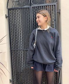 Preppy Outfits, Mode Outfits, Preppy Style, Skirt Outfits, Chic Outfits, Fashion Outfits, Fashion Tips, Preppy Grunge, Baby Outfits