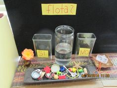 Floating and sinking Science Investigation Eyfs Activities, Nursery Activities, Science Activities, Science Projects, Activities For Kids, Science Area Preschool, Kindergarten Science, Teaching Science, Science For Kids