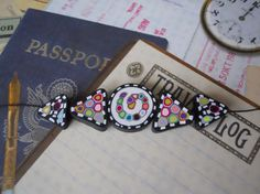 Polymer Clay Beads by TLS Clay Design by TLSClayDesign on Etsy, $9.99