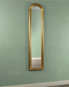 "Narrow Wall Mirror wall mirrors, 58"" tall narrow baroque mirrors, royal blue high"