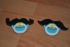 Mustache binky I thought this was way to funny