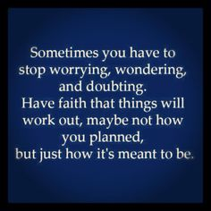 So true! God's plans are often different than our own, but they are SO much better!