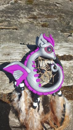 Dreamcatcher dragon by ARAartisticcreations on Etsy