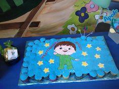 Charlie and the numbers cupcake birthday cake