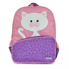 This backpack is great for preschool, daycare, or weekend trips.