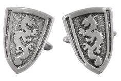 This magnificent pair of Dragon Shield Cufflinks truly embodies the true essence of strength and courage. No wonder it is mostly used by kin...