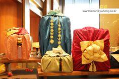 [우리규방]롯데호텔 로비에 있는 선물포장보이예요 : 네이버 블로그