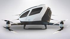Ehang 184: El  drone capaz de transportar personas