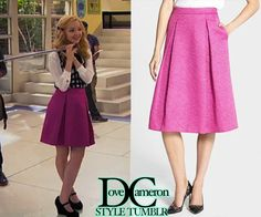 "Dove (as Liv) wore this EXACT skirt (altered) in Liv & Maddie ""Prom-A-Rooney""Chelsea28 Full Pleat SkirtSold out at Nordstrom"