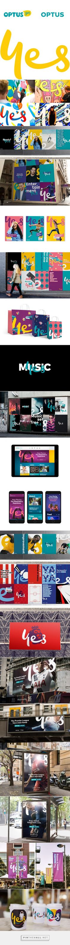 Brand New: New Logo and Identity for Optus by Re... - a grouped images picture - Pin Them All