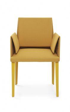 Mari dining chair, designed by Luigi Baroli for Baleri Italia | Available at Linea Inc. Modern Furniture Los Angeles. (www.linea-inc.com / info@linea-inc.com) #modernfurniture #interiordesign