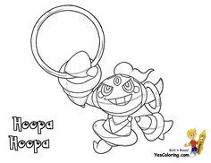 Shining Pokemon Sun Coloring At YesColoring Print Out Hoopa Pokedex 720