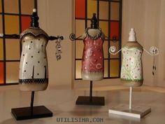 Manualidades y Artesanías | Maniquíes reciclados | Utilisima.com « GRAFFITI