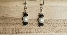 Check out this item in my Etsy shop https://www.etsy.com/listing/450804680/czech-glass-beads-glass-pearls-earrings
