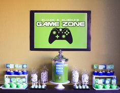 Xbox Video Game Themed Party - video games