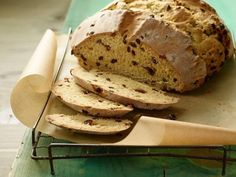 Get Irish Soda Bread Recipe from Food Network--I bet it would be good with craisins & pecans or walnuts!