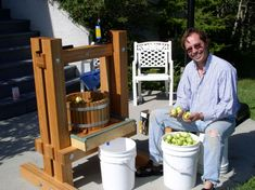 apple cider press -- make your own