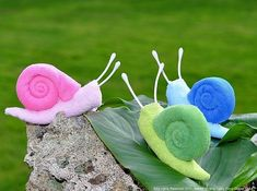 Washcloth Snail Instructional Video