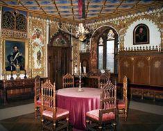 Saal in Schloss Lichtenstein auf der Schwäbischen Alb