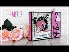 "Album ""My Love"" Scrapbooking PARTE 2/3"
