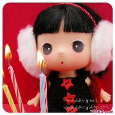 ·Lovely Korea popular ddung dolls