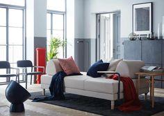 Vi har designet ny dejlig sovesofa for Ikea. Flottebo hedder den 😊 #halskovdalsgaarddesign #ikea #flottebo #bedsofa #sovesofa #sofabed #smartfurniture #nordichome #smallspaceliving #modernliving #functionalfurniture #danishdesign #modernfurniture #bedroom #livingroom #soveværelse #daybed #moderndesign #stue #nordicdesign #nordiskehjem #nordiskdesign #cosy #functional #functionaldesign #møbeldesign #designnews