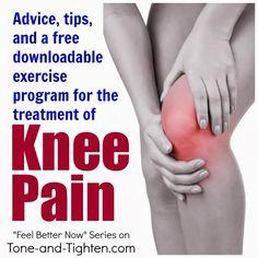 How to treat knee pain!
