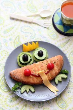 50 + bambini alimentari al sacco Arte - Frog Prince