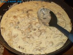 piept de pui cu smântână Romanian Food, Cheeseburger Chowder, Macaroni And Cheese, Soup, Ethnic Recipes, Desserts, Tailgate Desserts, Mac And Cheese, Postres