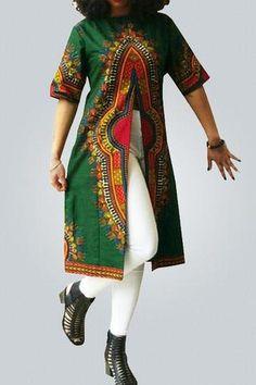 Bohemian Half Sleeve Totem Printed Silk Shirts - ROASO