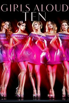 <3 Nadine, Cheryl, Sarah, Kimberley and Nicola! Ten! <3