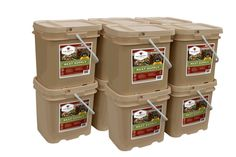 Meat Buckets - 10 Freeze Dried Meat Buckets (600 Servings)