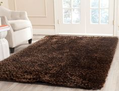 Shag Collection STS641C Color: Chocolate  #rug #carpet #safavieh #safaviehrug  #trendy #homedecor #homeaccents #shophome #livingroom #diningroom #bedroom #kitchen #office #rugsforyourhome #shag #shagrug #shagcarpet #softshagrugs #shagrugdesign #stunningshagrugs #safaviehshag #safaviehshagrugs #trendyrugs #bestrugs #bestrugprices