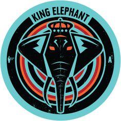King Elephant by Petros Voulgaris