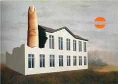 The revealing of the present - Rene Magritte