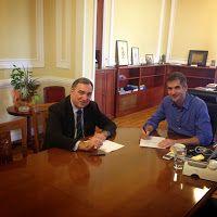 Περιφέρεια Στερεάς Ελλάδας: Υπογραφή Σύμβασης για έργο στην ΠΕ Φθιώτιδας, προϋπολογισμού 2.500.000 ευρώ Διαβάστε περισσότερα » http://thivarealnews.blogspot.com/2014/11/2500000.html