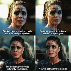 "#The100 4x11 ""The Other Side"" - Octavia"
