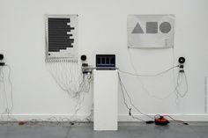 The 2011 Edition: ESAD Saint Etienne Graduate Student Initiative - E Textiles, Sound Installation, Conceptual Drawing, Sound Art, New Media Art, Interactive Art, Sound Design, Contemporary Art, Design Inspiration