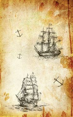 .... Antique World Map, Vintage World Maps, School Book Covers, Pirate Treasure Maps, Powerpoint Background Design, Backrounds, Scrapbook Sketches, Beach Art, Paper Background
