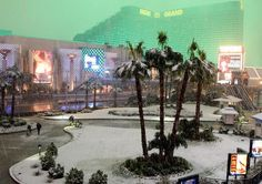 The last time Las Vegas got an inch of snow was December