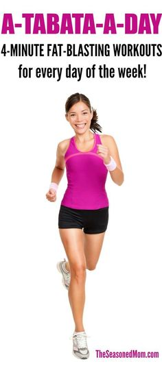 A-Tabata-A-Day! 4-Minute Fat-Blasting Workouts for Every Day of the Week